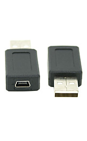 usb 2.0 uros Mini USB 2.0 naaras-muunnin adapteri