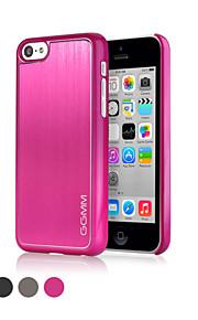 ggmm® aluminium och pc hela kroppen fallet för iphone5c ggmmipc00301 med skärm skyddad film