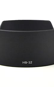 mengs® hb-32 kronblad form modlysblænde til Nikon AF-S 18-70 / 3.5-4.5, AF-S 18-105 / 3.5-5.6, AF-S 18-135 / 3.5-5.6 g hvis-ed