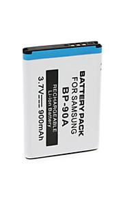BP-90A - Li-ion - Batterij - voor for  Samsung  ES65   ES70   TL105   TL110  PL100 - 3.7V - ( V ) - 900mAh - ( mAh )