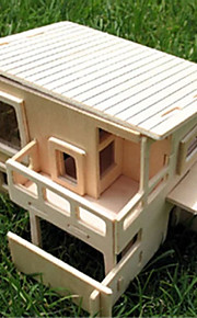 træet DIY hus hold bygningsmodel