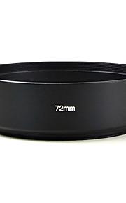 mengs® 72 milímetros de alumínio cobertura da lente padrão para canon nikon sony Olympus etc todos os tipos de câmera digital e DSLR.
