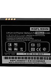 batería de repuesto - 1500 - LG KGFL 53HN - No