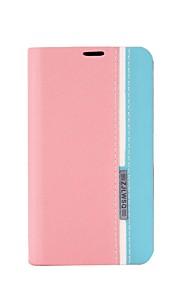 tri-tono casos de cuero para Nokia Lumia 520 (color clasificado)