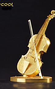 violino 3D estéreo brinquedos puzzle de metal montadas do enigma modelo de instrumento filhos adultos