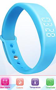 unisex pulseira inteligente lembrete multifuncional relógio 3d pedômetro
