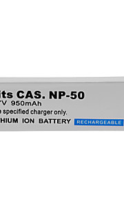 1400mAh camera batterij pack voor CASIO NP-50