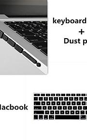 colore solido coperchio e polvere tastiera tpu tappi di alta qualità per macbook retina 15.4 pollici (colori assortiti)