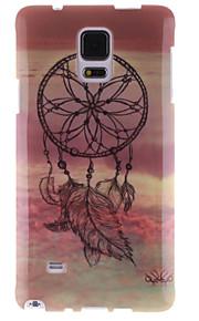 Windbell disegno TPU IMD copertina morbida per Samsung Galaxy Note 4