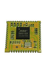 Bluetooth Audio modul understøtter bt opkald / FM radio, HFP / hsp, opp, A2DP / AVRCP, PBAP