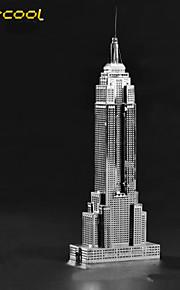 o Empire State Building modelo de construção de metal brinquedo quebra-cabeça de montagem de quebra-cabeça crianças adulto sólidos 3D