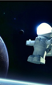 New Arrvial USB Astronaut Light / Cute Astronaut PC Lamp LED Night Light Emergency Light