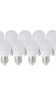 10 stk. yangming E26/E27 3 W 5 SMD 5730 210lm LM Varm hvit/Kjølig hvit Globepære AC 85-265 V