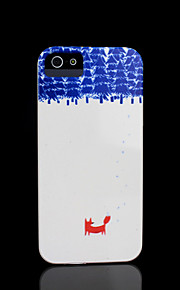 Fox Pattern Cover for iPhone 4 Case / iPhone 4 S Case