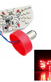 Merdia 1157 2W 85LM 3528SMD LED Blue/Red/White Light Brake Light / Decorative Lights/Taillight for Car(1 PCS/12V)