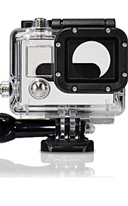 Gopro Accessories Protective Case For Gopro Hero 3 Waterproof PVC Transparent