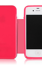 Fruit Color Glossy TPU Phone Case for iPhone 4/4S(Assorted Colors)