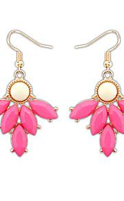 Øreringe sæt Smykker Personaliseret Euro-Amerikansk Mode Ædelsten Harpiks Legering Smykker Smykker For Bryllup Speciel Lejlighed 1 Par