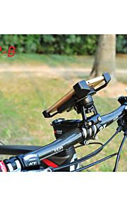 supporto del telefono mountain bike a 360 ° di telefono della bicicletta della strada rotante montare titolare PB02-un adatto a 3-7 ''