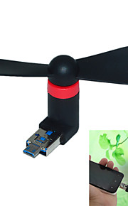 2 in 1 Micro USB and USB Mini Fans(Assorted Colors)