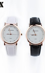 relógio de forma lazer cinto de strass quartzo do casal (cores sortidas)