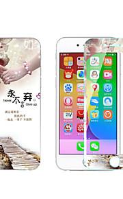 eksplosionssikret hærdet glas high definition klassisk sticker til iPhone 6s / 6