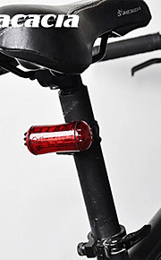 Bike Lights / Rear Bike Light / Safety Lights - - Cycling Easy Carrying Button Battery Lumens Battery Cycling/Bike-Acacia®