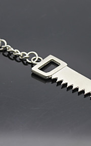 Stainless Steel Tools Saws Keychain Key Chain Holder Organizer for Gift