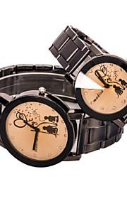 parrets runde dial tilfælde legering ur mærke mode kvarts ur (2stk)
