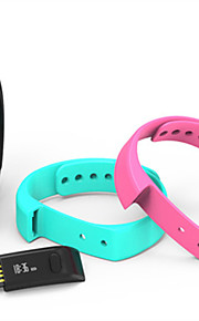 Touch Bottom Intelligent Wearable Motion Sensor Bluetooth Health Monitoring Bracelet for iPhone & Andriod Smart Phones
