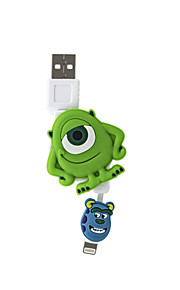 disney mike faltbare Ladekabel für iPhone 5 g / 5s / 5c / 6 / 6plus ipad 2 ipad mini Luft