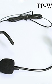 Top Quality Cardioid Condenser Headworn Headset Microphone with Flexible Wired Boom XLR Connector
