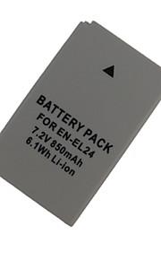 el24 850mAh kamera batteri til Nikon 1 J5