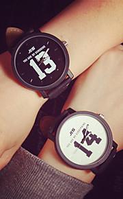 homens estudante relógio do casal moda unissex assistir ou mulheres