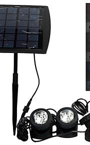 solar utendørs vannprojektorlampe assortert farge