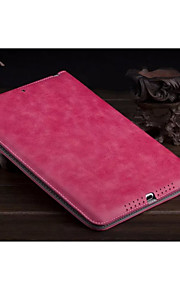 ensfarget pu skinn auto sleep / wake up folio tilfeller konvoluttvesker for ipad mini 2 3 (assortert farge)