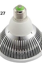 GU10/G53/E26/E27 12 W 12 Høyeffekts-LED 1200LM LM Varm hvit AR Dimbar Spotlys AC 220-240/AC 110-130 V