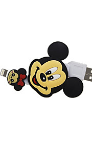 Disney Micky faltbare Ladekabel für iPhone 5 g / 5s / 5c / 6 / 6plus ipad 2 ipad mini Luft