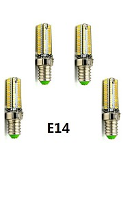 6 stk. E14/G9 4 W 104 SMD 3014 400-450 LM Varm hvit/Kjølig hvit Kornpære AC 220-240 V