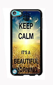 Beautiful Morning Design Aluminum High Quality Case for iPod Touch 5