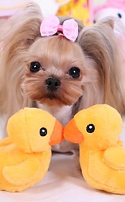 Squeaking Yellow Duck  Plush Toy for Pets Dogs