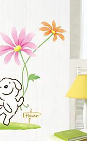 cão feliz multifunções pvc diy adesivos decorativos