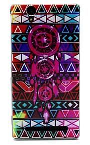 племенных шаблон символы ТПУ мягкий чехол для Sony T2