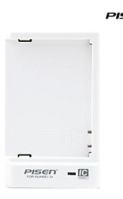 Pisen tragbare Huawei Ehre 3x Ladegerät ii intelligenten IC Handy-Ladegerät mit faltbarem Wechselstrom-Wand-Stecker weiß