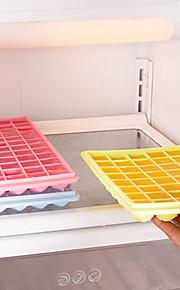 48-fach icecube Behälterform diy Pudding Gefrierform (gelegentliche Farbe)