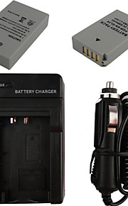 el24 x2 850mAh kamera batteri + billader til Nikon 1 J5