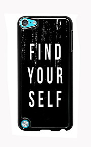 Find Yourself Design Aluminum High Quality Case for iPod Touch 5