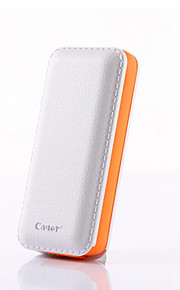 Cager B069 5000mAh Mobile Power Bank Portable Charger Built in Micro USB Cable for Iphone,Samsung ,Smart Phone