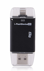 iFlash Drive Dual card reader for ipad iphone and Mac/PC