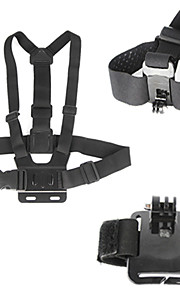 3-in-1 Gopro Accessory kit Chest Strap Wrist Band Head Strap for Gopro hero4/3+/3/2/1
